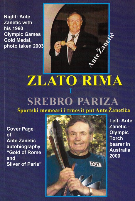 1960 Olympic Gold Medalist  Ante Zanetic