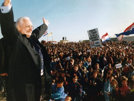 Dr Franjo Tudjman Ushers Croatia Out Of Communism - 1991 Photo: www.franjotudjman.hr