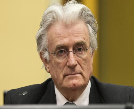 Radovan Karadzic - Photo: AP