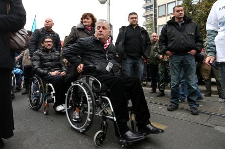 Djuro Gologoski President of 100% Croatian Military War Veterans Association Photo: Davor Puklavec//Pixsell