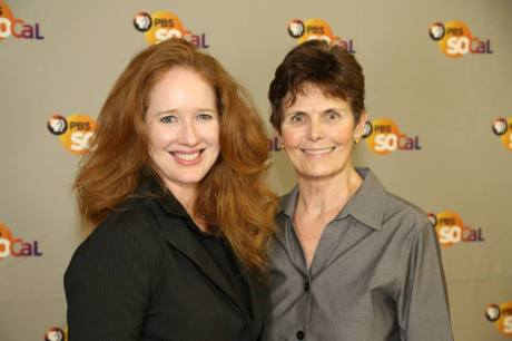 Left: Kate Johnson Right: Maria Ramas Photo: PBS SoCal Photostream