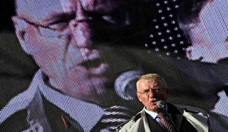 Vojislav Seselj, indicted war criminal awaiting ICTY verdict