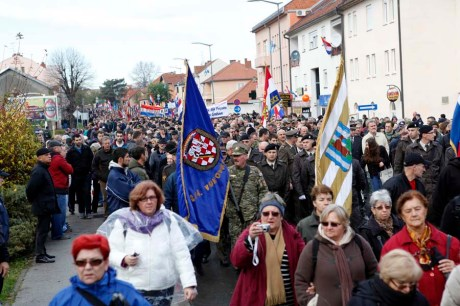 Vukovar, 18.11.2014 - Obiljezavanje Dana sjecanja na zrtvu Vukovara 1991.