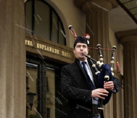 Burns Night 2015 Zagreb Hotel Esplanade