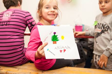 """Merry Christmas"" Photo: SOS Children's Village Croatia"
