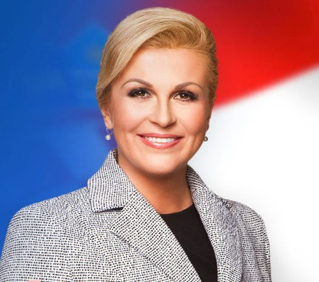 Kolinda Grabar-Kitarovic President of the REpublic of Croatia (Photo: screenshot www.kolinda.hr)