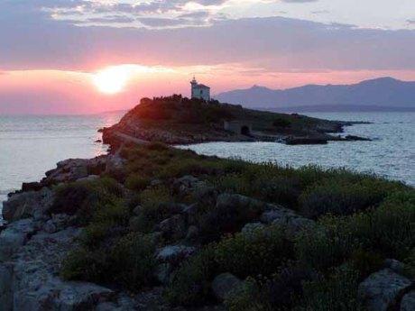Plocica lighthouse Croatia