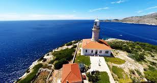 Struga lighthouse Croatia