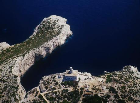 Susac lighthouse Croatia