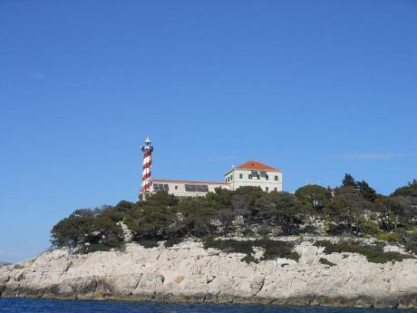 Tajer lighthouse Croatia