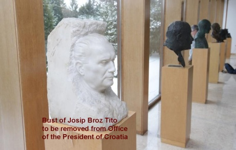 Josip Broz Tito bust copy
