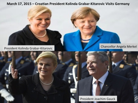 Croatian President Visits Germany