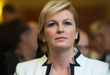 President of Croatia Kolinda Grabar-Kitarovic