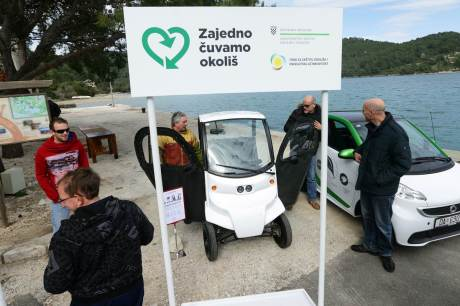 """Mljet, Croatia First Green Island in the World Project """"Together, We Look After The Environment"""""""