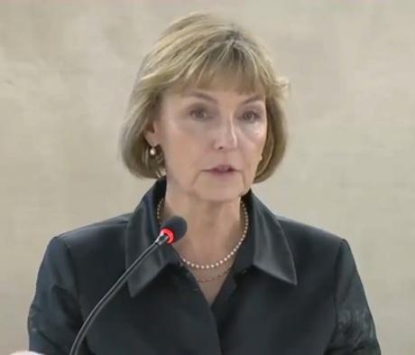 Vesna Pusic Photo: Screenshot UN WEB TV 3 March 2015