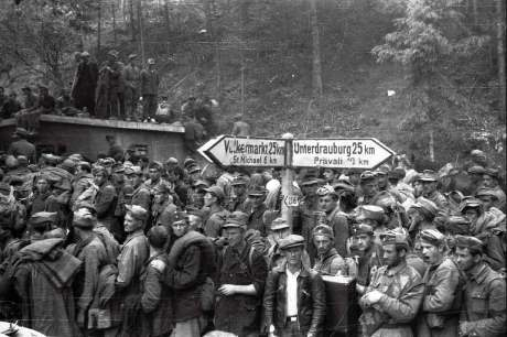Bleiburg, Austria, May 1945 Fleeing Croats delivered by the British to communist Yugoslavia slaughter