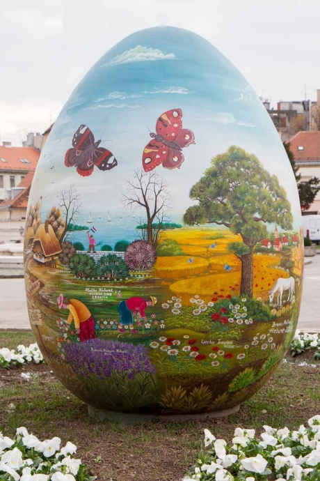 Croatia giant Easter egg 2015