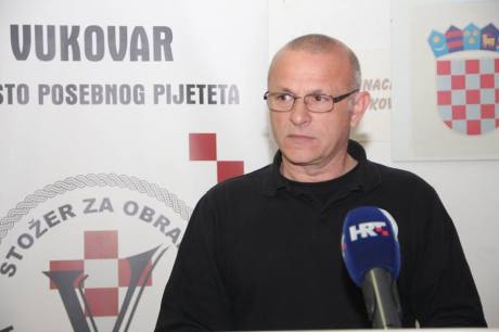 Tomislav Josic President of  Committee for the Defence of Croatian Vukovar