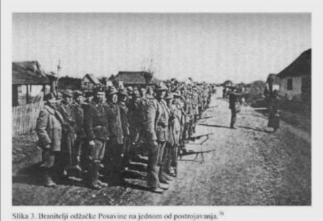 Odzak, Croatia, May 1945 Last Battle of World War II in Europe Croatian soldiers and volunteer defenders assemle