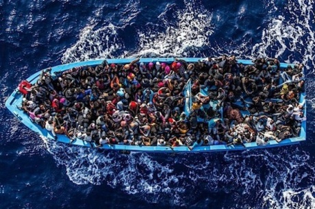 Boats filled with illegal migrants and refugees cross the Mediterranean on daily basis from Africa and the Middle East