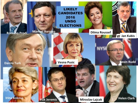 Croatian candidate for UN Secretary General