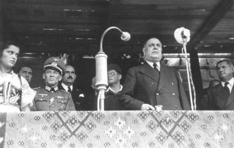 Serbia's World War II  Prime Minister Milan Nedic Delivers a speech of Holocaust support
