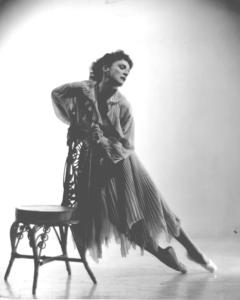 "Mia Slavenska as ""Blanche"" in Streetcar Named Desire 1952 Photo: miasfilm.com"
