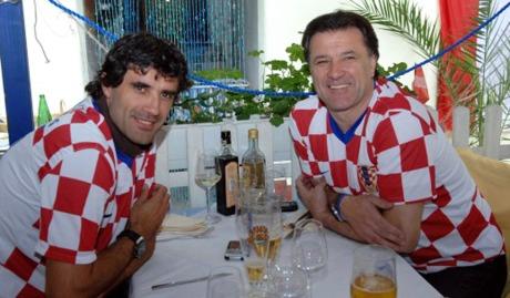 Zoran Mamic (left) and Zdravko Mamic (right) Photo: Ivica Tomic