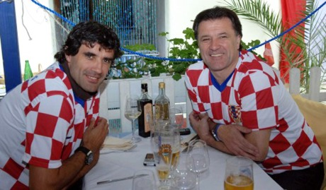 Zoran Mamic (left) and Zdravko Mamic (right) Photo: Ivica Tomic