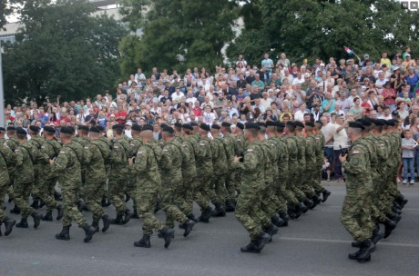 20 Anniversary of Croatian victory over Serb aggressor Photo: Screenshot HRT news
