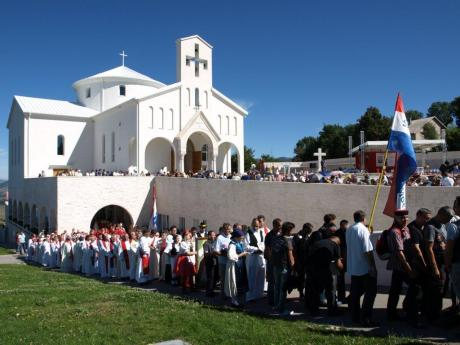 Saturday 29 August 2015 at The Church of Croatian Martyrs in Udbina Photo: www.lika-online.com