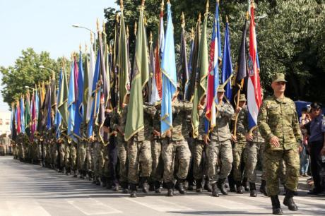 20th Anniversary of Operation Storm Liberation of Croatia Military Parade to honour the fallen, the brave and liberty