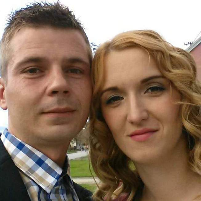 Tomislav Salopek and his wife Natasa Photo: Facebook