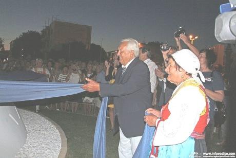 Dr Zvonimir Separovic unveils the monument to Victims of Communist Yugoslavia Photo: Hrvoje Jelavic