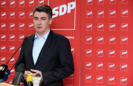 Zoran Milanovic Croatian Prime Minister and Leader of Social Democrats