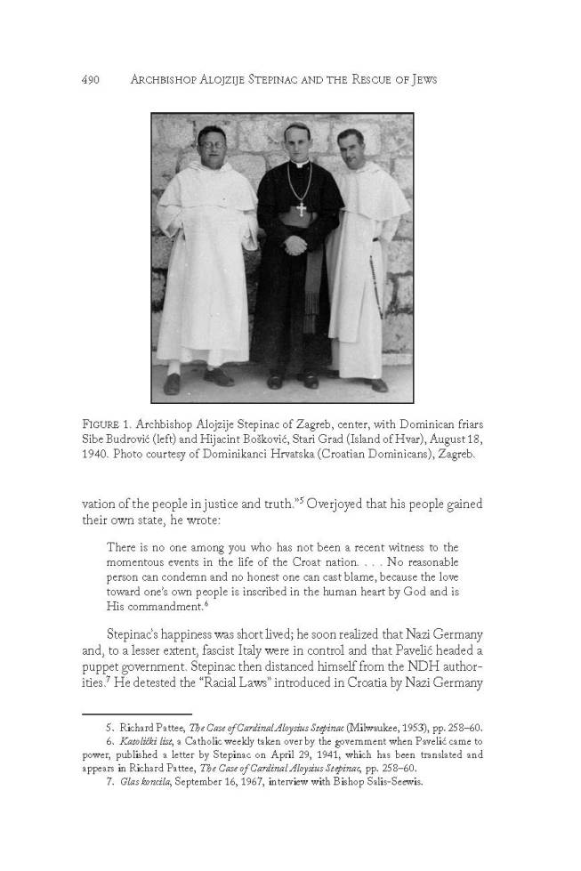 Excerpt from the article by Dr Esther Gitman published in The Catholic Historical Review Summer 2015