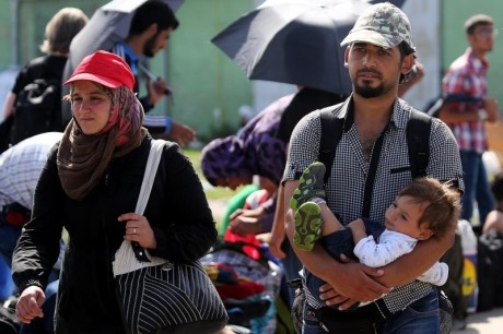 Syrian refugees in Croatia