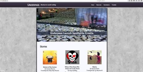Screenshot Homepage underpass.co