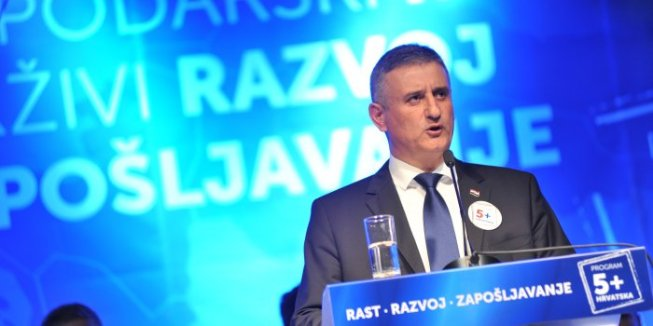 Tomislav Karamarko President of Croatian Democratic Union/HDZ Photo: Marina Cvek