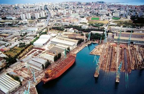 Brodosplit Croatia Split Shipbuilding Company Yard