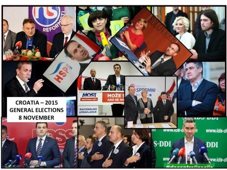 Croatian General Elections 2015: 2311 Candidates - 166 Lists!