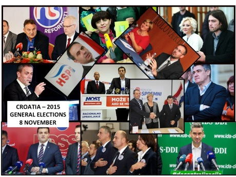 Croatian General Elections 2015: 2311 Candidates - 166 Lists!