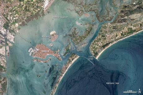 Landsat image Venice