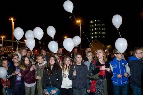 Remembering those that perished Vukovar Street in Zagreb 17 November 2015 Remembering Vukovar of 1991 Foto: Darko Tomas / CROPIX