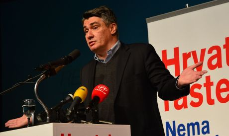 Leader of Social Democrats/SDP and former Premier Zoran Milanovic Still in the running to form government although record of last mandate appalling Photo: Ivica Galovic/ PIXSELL