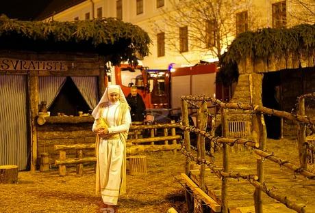 Live Nativity Zagreb Croatia 2015