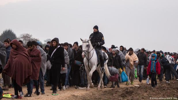 Refugees/migrants overwhelm Europe in 2015 and likely to continue in 2016