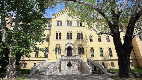 University of Zagreb, Croatia main building