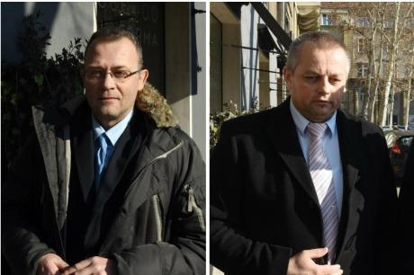 Minister Zlatko Hasanbegovic (left) Minister Mijo Crnoja (right)