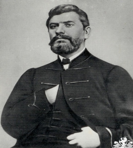 Dr Ante Starcevic 1823 - 1896 Croatian Rights Movement